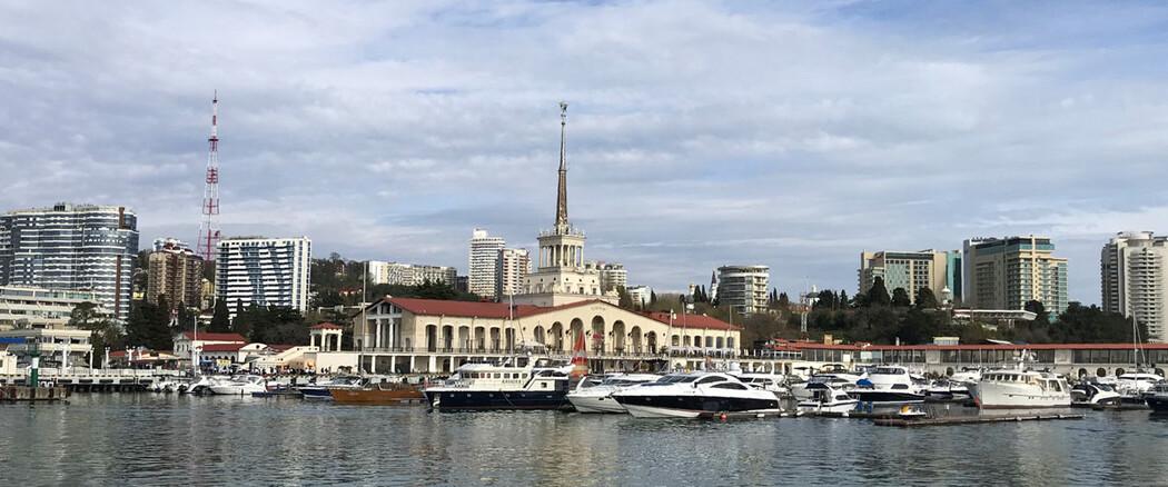 Речной вокзал Сочи